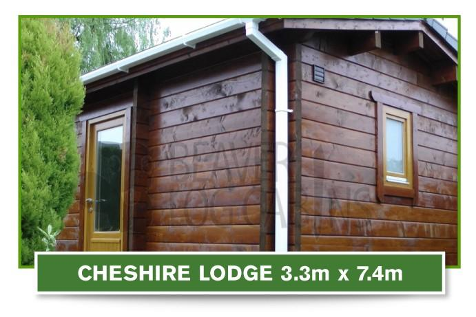 cheshire lodge 3.3m x 7.4m