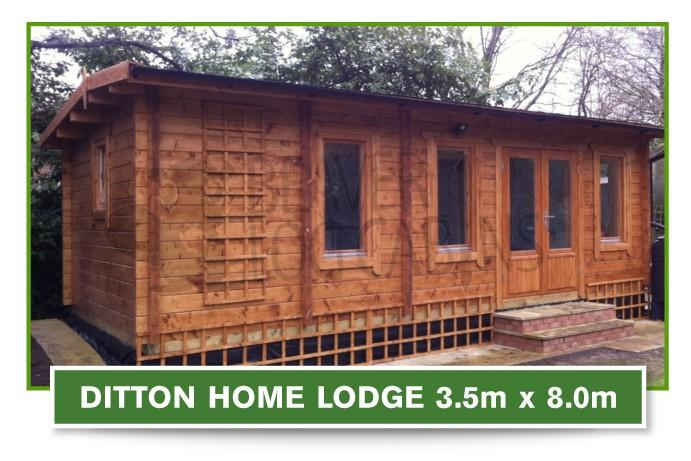 ditton home lodge 3.5m x 8m