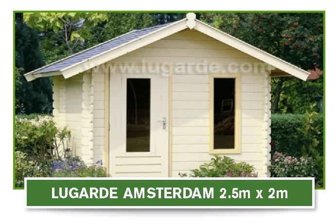 Amsterdam Log Cabin 2.5mx2m