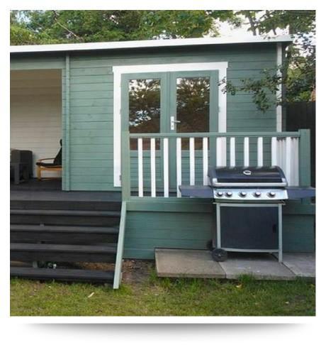 home gym garden cabin chester
