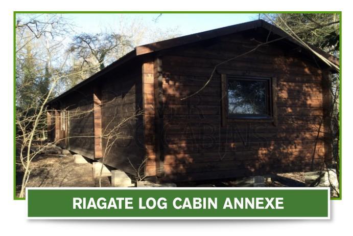 riagate log cabin annexe