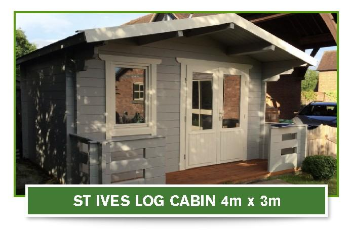 cheap log cabin supplier in cheshire