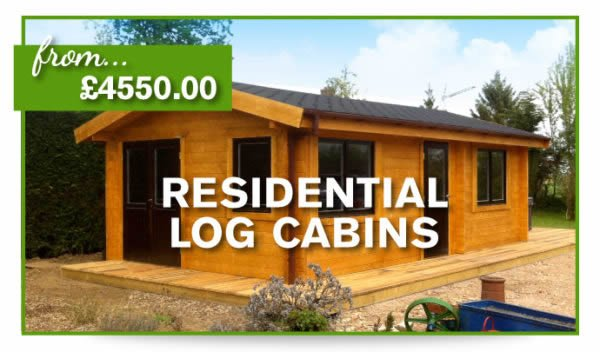 log cabins and timber buildings for sale