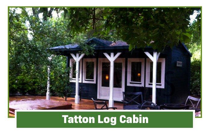 Tatton Clock House Log Cabins